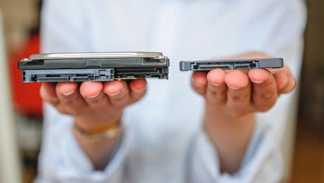 HDD in SSD diskovne enote